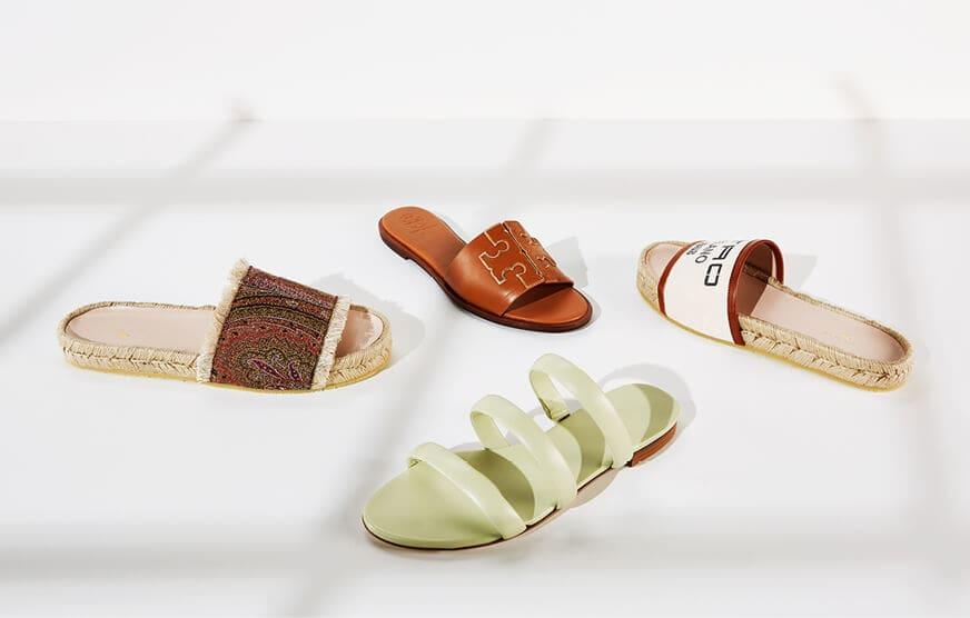 Neue Schuhe für den Sommer