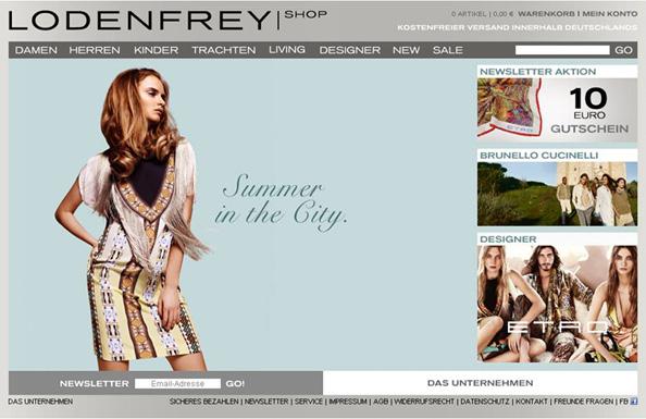 Onlineshop 2010