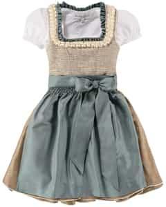 Olivia Mädchen-Dirndl mit Bluse und Seidenschürze von Kinga Mathe