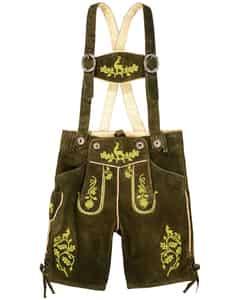Hochkönig Jungen-Lederhose mit Trägern