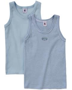 Jungen-Unterhemden 2er Pack