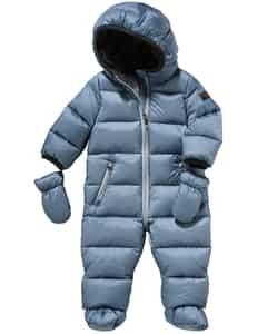 Baby-Daunen-Schneeanzug