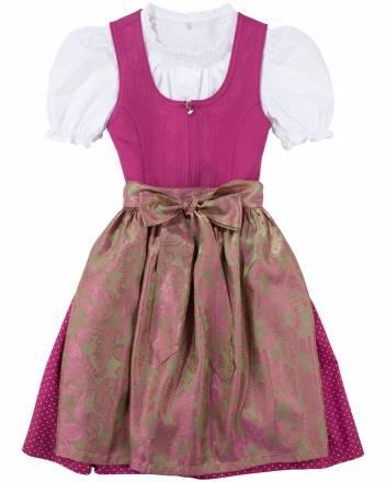 Deiser Turi Landhaus Regina Mädchen-Dirndl mit Bluse und Schürze