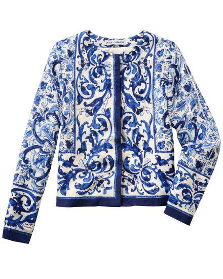 Dolce & Gabbana Mädchen-Jacke