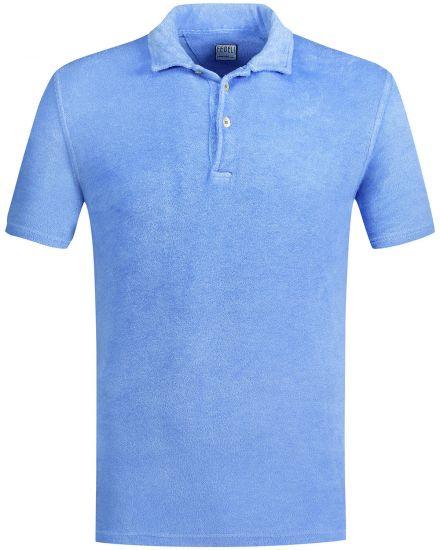 Fedeli Mondial Frottee-Polo-Shirt