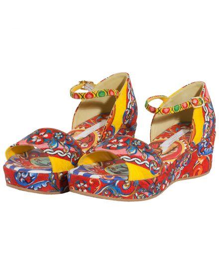 Dolce & Gabbana Mädchen-Sandaletten