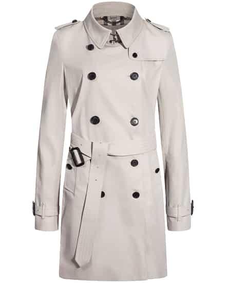 The Kensington Mid Trenchcoat Burberry | Bekleidung > Mäntel > Trenchcoats | Burberry
