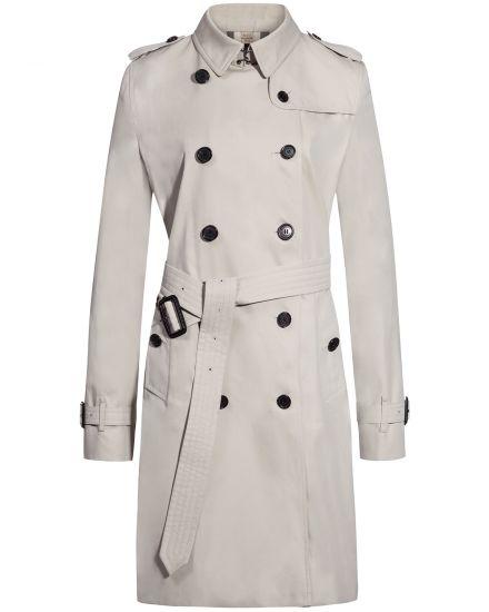 The Kensington Long Trenchcoat Burberry | Bekleidung > Mäntel > Trenchcoats | Burberry