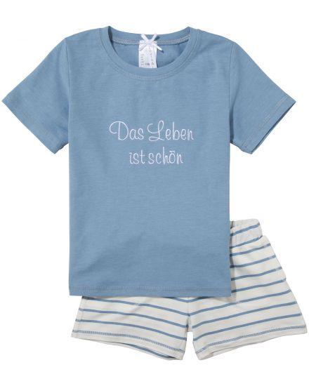Louis + Louisa Mädchen-Schlafanzug