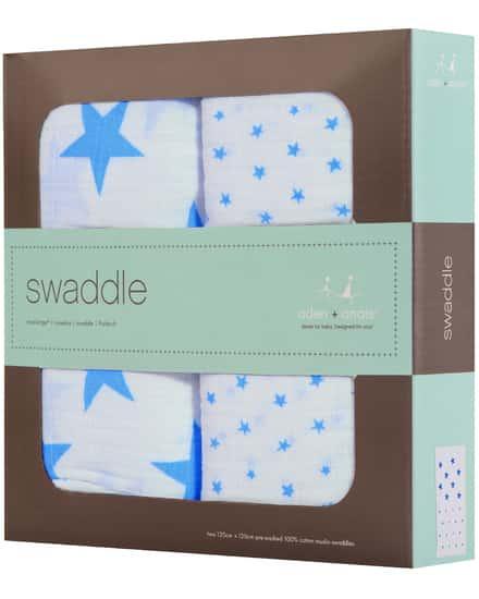 Aden and Anais Swaddle Baby-Pucktücher 2er-Set