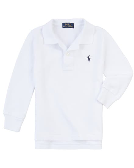 Polo Ralph Lauren Jungen-Langarm-Polo (Gr. S-XL)