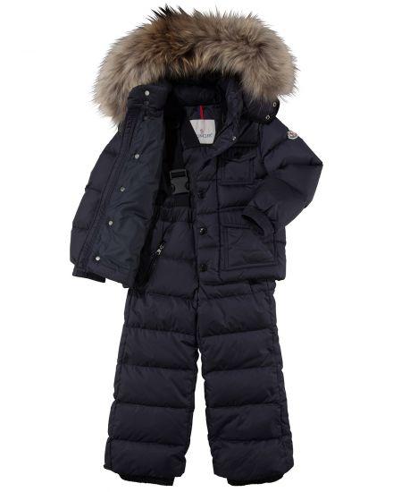 Moncler Kinder-Daunen-Schneeanzug