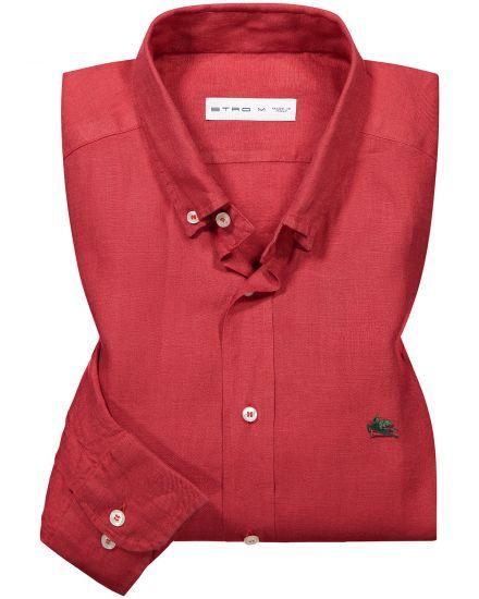 Etro Leinen-Hemd