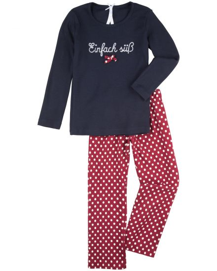 Louis + Louisa Mädchen-Pyjama