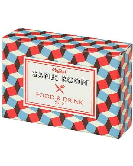 Food & Drink Quiz Ridley´s Games Room