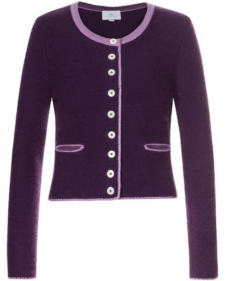 Jacken für Frauen - LODENFREY Trachten Cashmere Strickjacke  - Onlineshop Lodenfrey