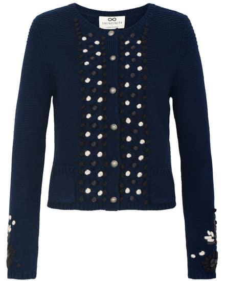 Jacken für Frauen - Sminfinity Trachten Strickjacke  - Onlineshop Lodenfrey