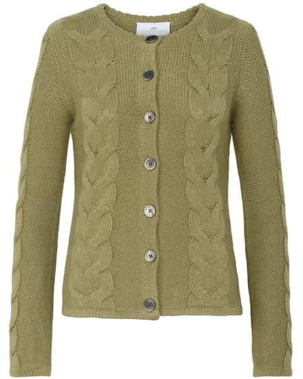 Jacken für Frauen - LODENFREY München 1842 Trachten Cashmere Strickjacke  - Onlineshop Lodenfrey