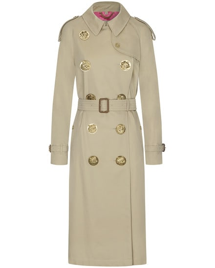 Burberry- Eastheather Bird Trenchcoat | Damen (...