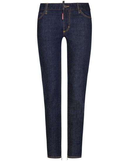 Dsquared2 Twiggy Jeans Medium Waist | Damen (30) | 00637674 001