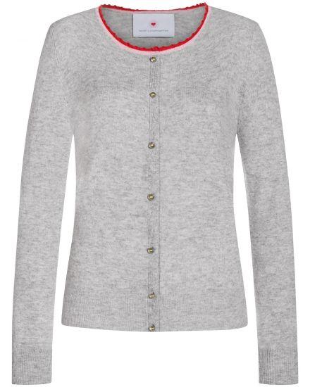 Jacken für Frauen - Herzensangelegenheit Cashmere Strickjacke  - Onlineshop Lodenfrey