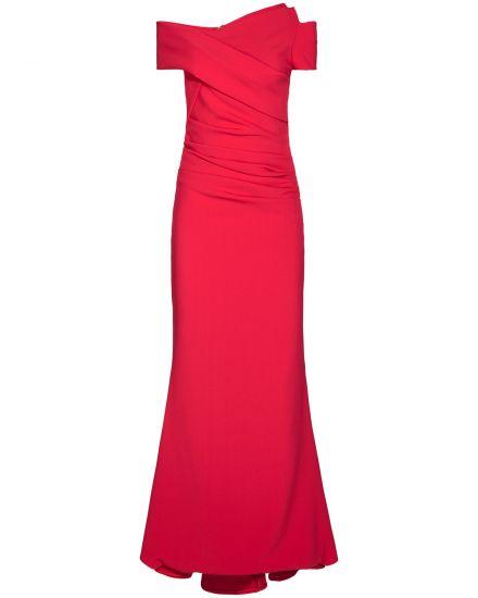 Festtagsmode für Frauen - Talbot Runhof Moa5 Abendkleid  - Onlineshop Lodenfrey