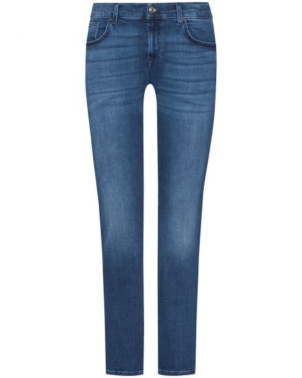7 For All Mankind The Relaxed Skinny Jeans Mid Rise Girlfriend Fit Slim Illusion bei LODENFREY München