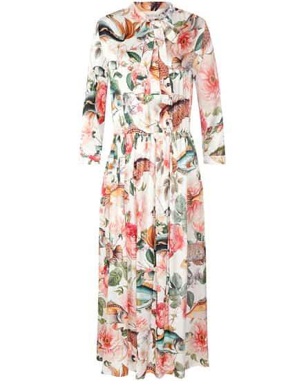 Kleider für Frauen - Shirtaporter Liberty Mix Seidenkleid  - Onlineshop Lodenfrey