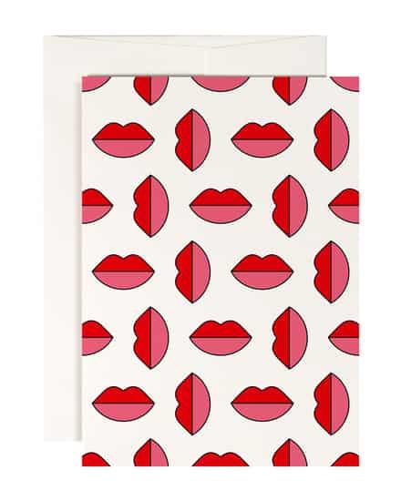 Lipstick Jungle Geschenkkarte Redfries