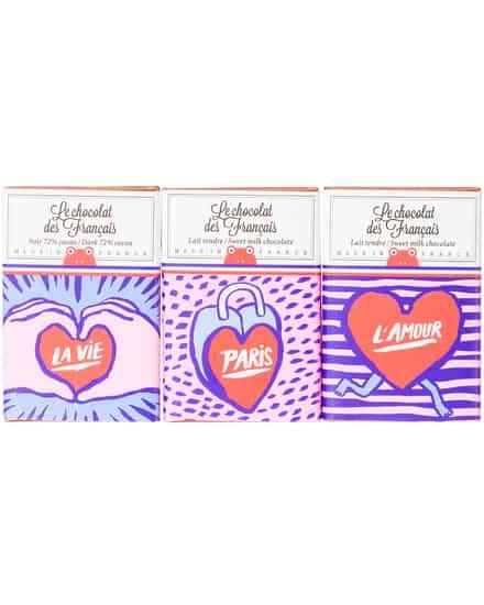 Schokolade 3er Set Le Chocolat Des Francais