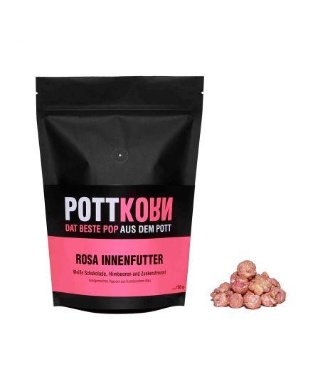 Rosa Innenfutter Popcorn Pottkorn