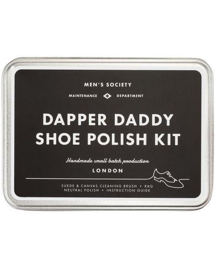 Dapper Daddy Shoe Polish Kit Box Men´s Society