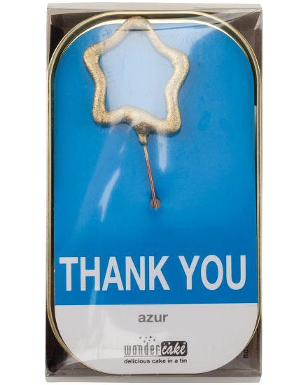 Thank You Rührkuchen mit Vollmilchschokotropfen...