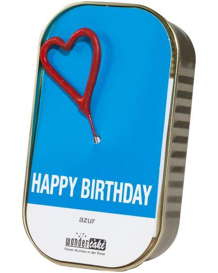 Happy Birthday Rührkuchen mit Vollmilchschokotr...