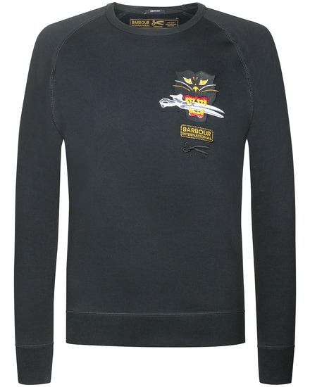 Black Cat Sweatshirt Denham