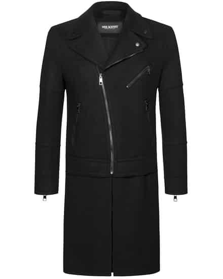 Jacken für Frauen - Neil Barrett Wollmantel Slim Fit  - Onlineshop Lodenfrey
