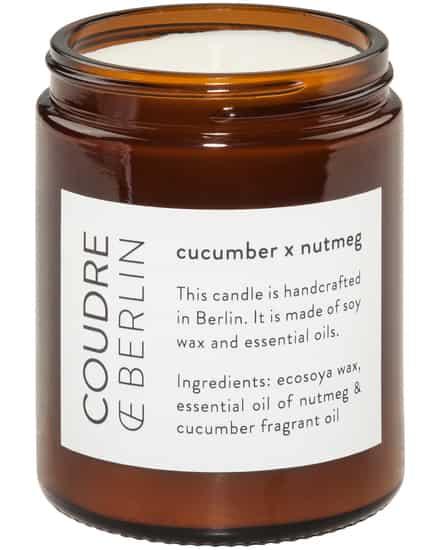 Cucumber x Nutmeg Duftkerze Coudre Berlin