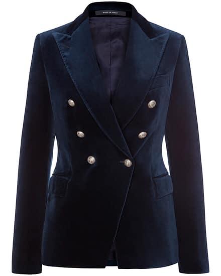 Jacken für Frauen - Tagliatore Alicya Samtblazer  - Onlineshop Lodenfrey