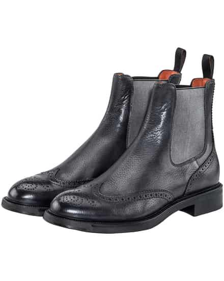 Stiefel für Frauen - Santoni Chelsea Boots  - Onlineshop Lodenfrey