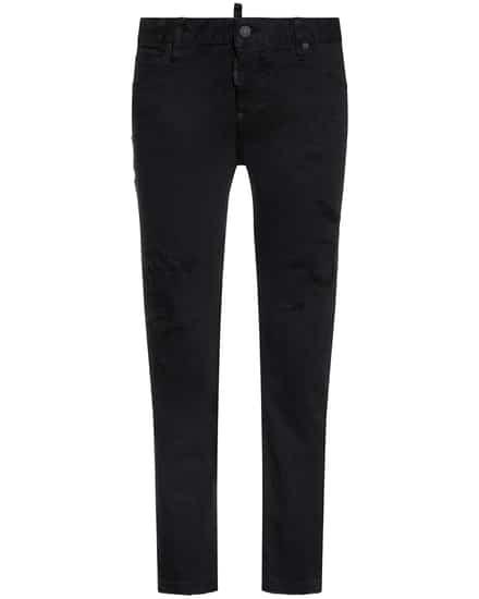 Hosen für Frauen - Dsquared2 7–8 Jeans Mid Rise Cropped  - Onlineshop Lodenfrey
