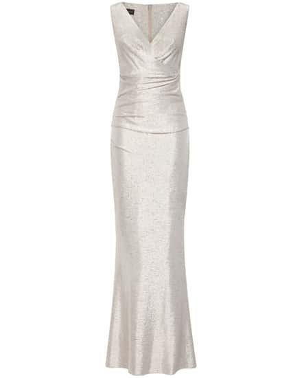 Festtagsmode für Frauen - Talbot Runhof Bossa12 Abendkleid  - Onlineshop Lodenfrey