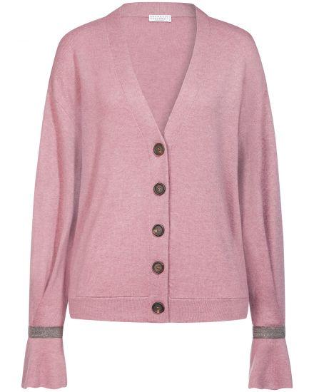 Jacken für Frauen - Brunello Cucinelli Cashmere Strickjacke  - Onlineshop Lodenfrey