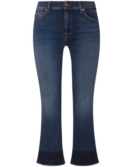 Hosen für Frauen - 7 For All Mankind The Cropped Boot Unrolled 7–8 Jeans Mid Rise  - Onlineshop Lodenfrey