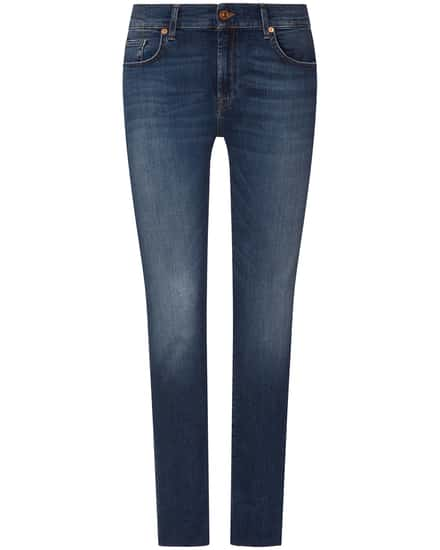Hosen für Frauen - 7 For All Mankind The Relaxed Skinny Jeans Mid Rise  - Onlineshop Lodenfrey