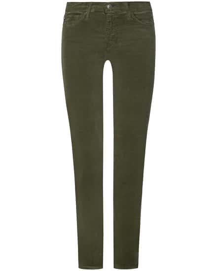 AG Jeans- The Prima Samthose Mid Rise Cigarette Leg | Damen (25)