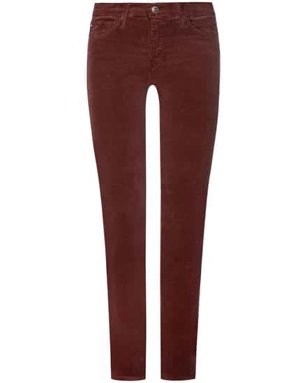 Hosen für Frauen - AG Jeans The Prima Samthose Mid Rise Cigarette Leg  - Onlineshop Lodenfrey