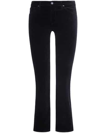 Hosen für Frauen - AG Jeans The Jodi 7–8 Samthose High Rise Slim Flare Crop  - Onlineshop Lodenfrey