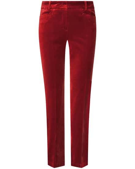 Hosen für Frauen - Cambio Felicity 7–8 Samthose  - Onlineshop Lodenfrey