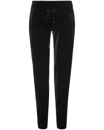 Hosen für Frauen - Cambio Jenna Samthose  - Onlineshop Lodenfrey