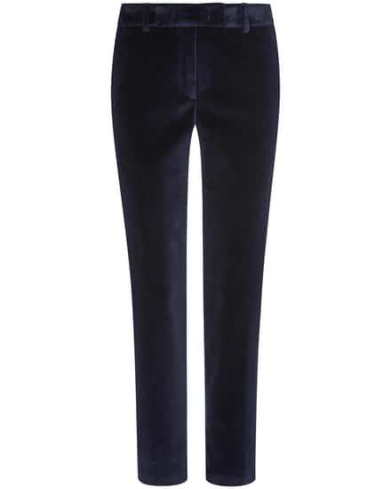 Hosen für Frauen - Cappellini M04825 Samthose  - Onlineshop Lodenfrey